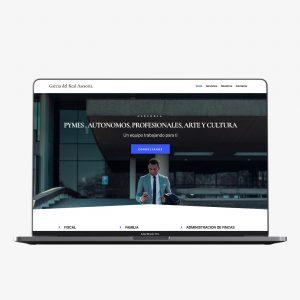 Diseño web de García del Real Asesoría