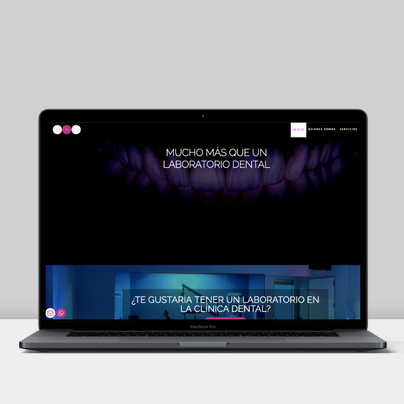 Diseño web de Labinlive