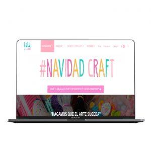 Diseño web de Laladecó