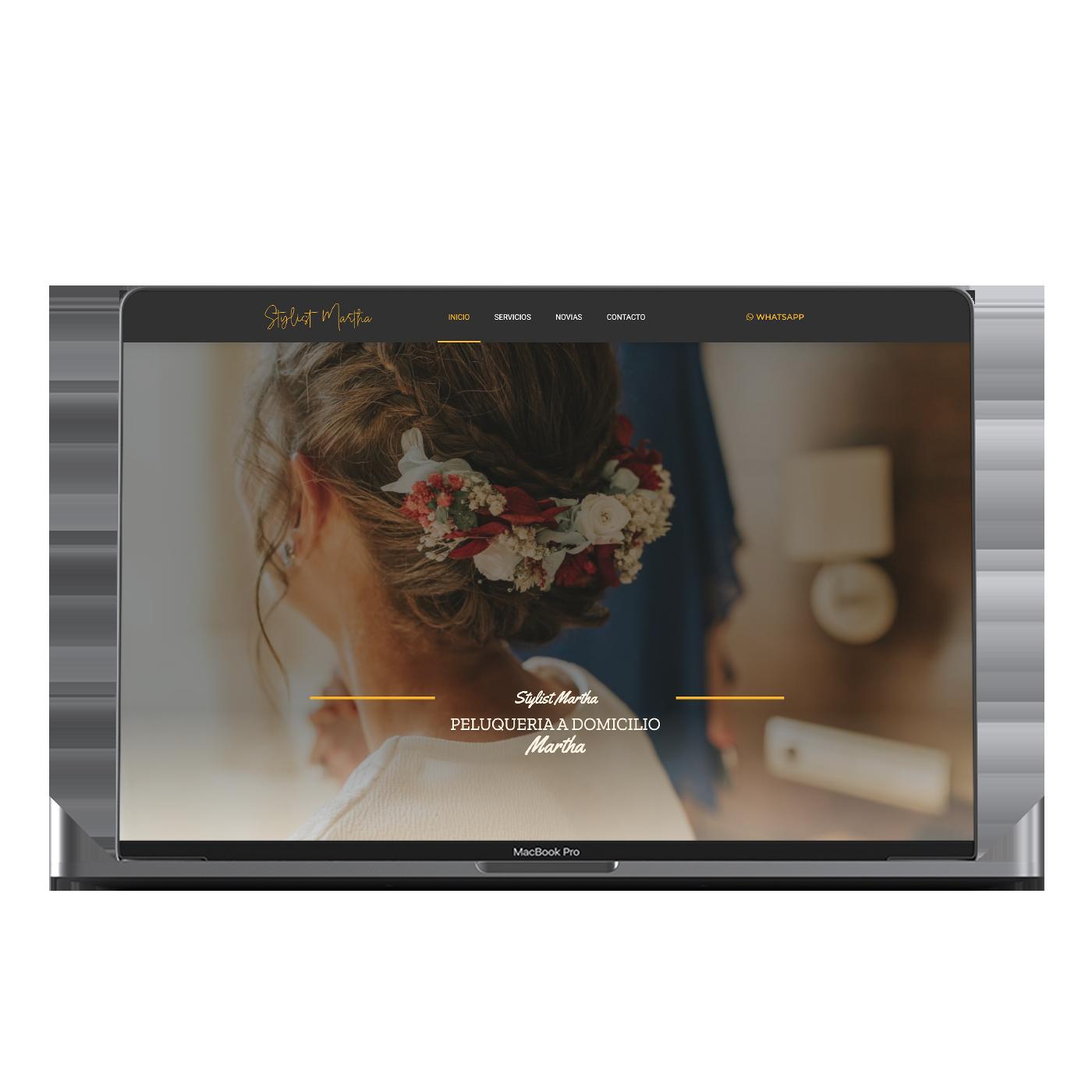 Diseño Web de Stylistmartha